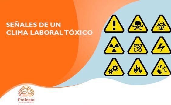 Señales de un clima Laboral tóxico