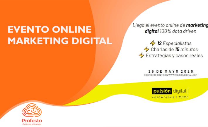 Evento Online de Pulsion Digital
