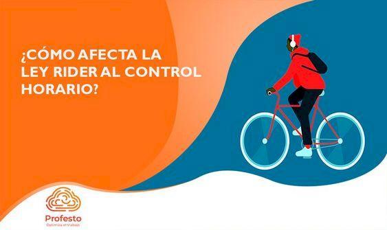 ¿Cómo afecta la Ley Rider al control horario?