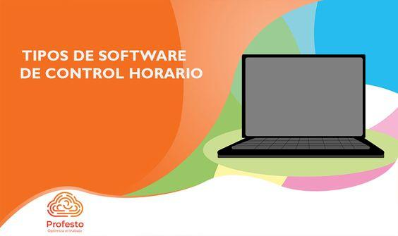Tipos de software de control horario